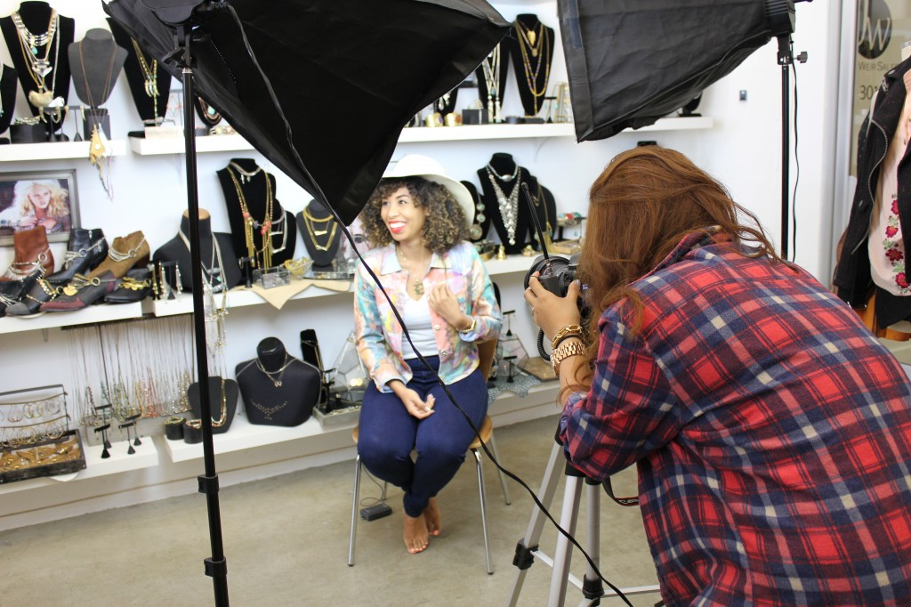 Swirl Girl Interview with LookMazing at Jena Weir Showroom