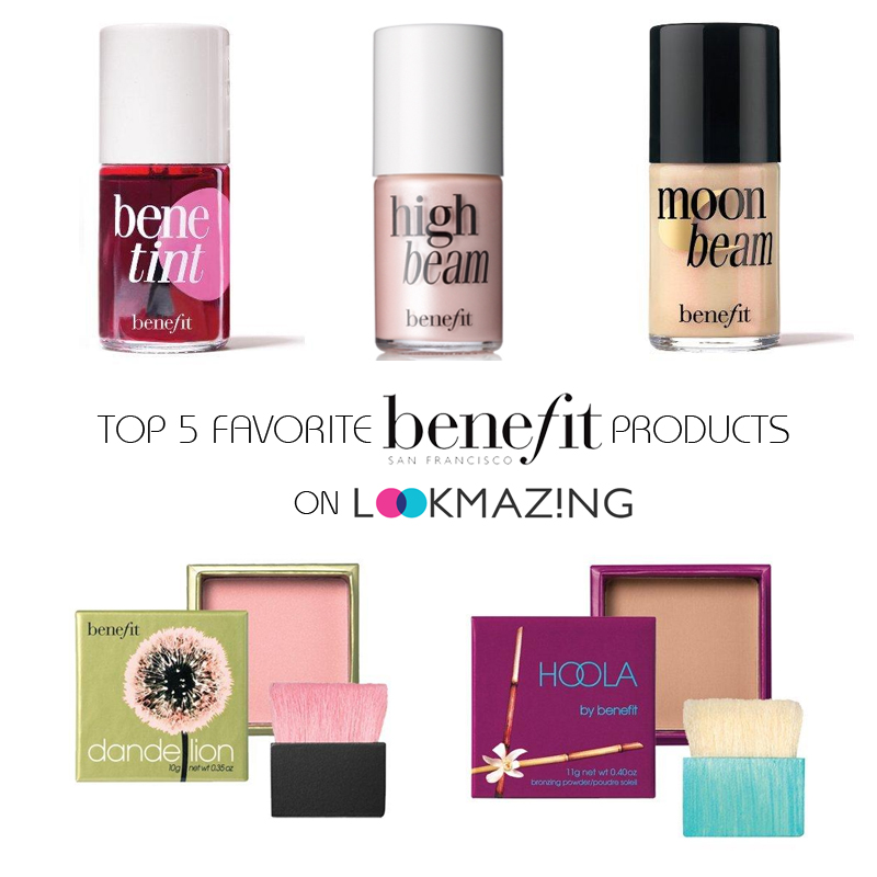 Top 5 Benefit Favorites on LookMazing