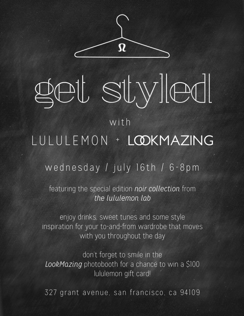 Lululemon and LookMazing Get Styled Event
