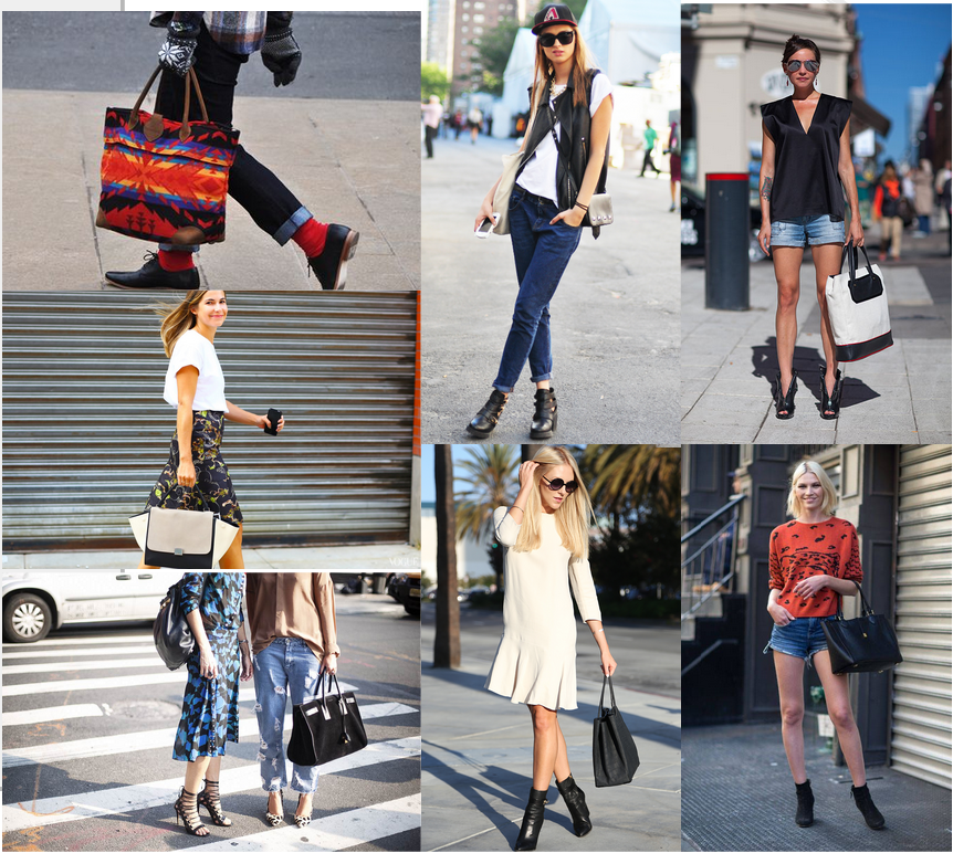 NYC Street Style Featuring Totes