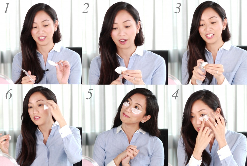 Treat yourself to a DIY eye mask before applying concealer