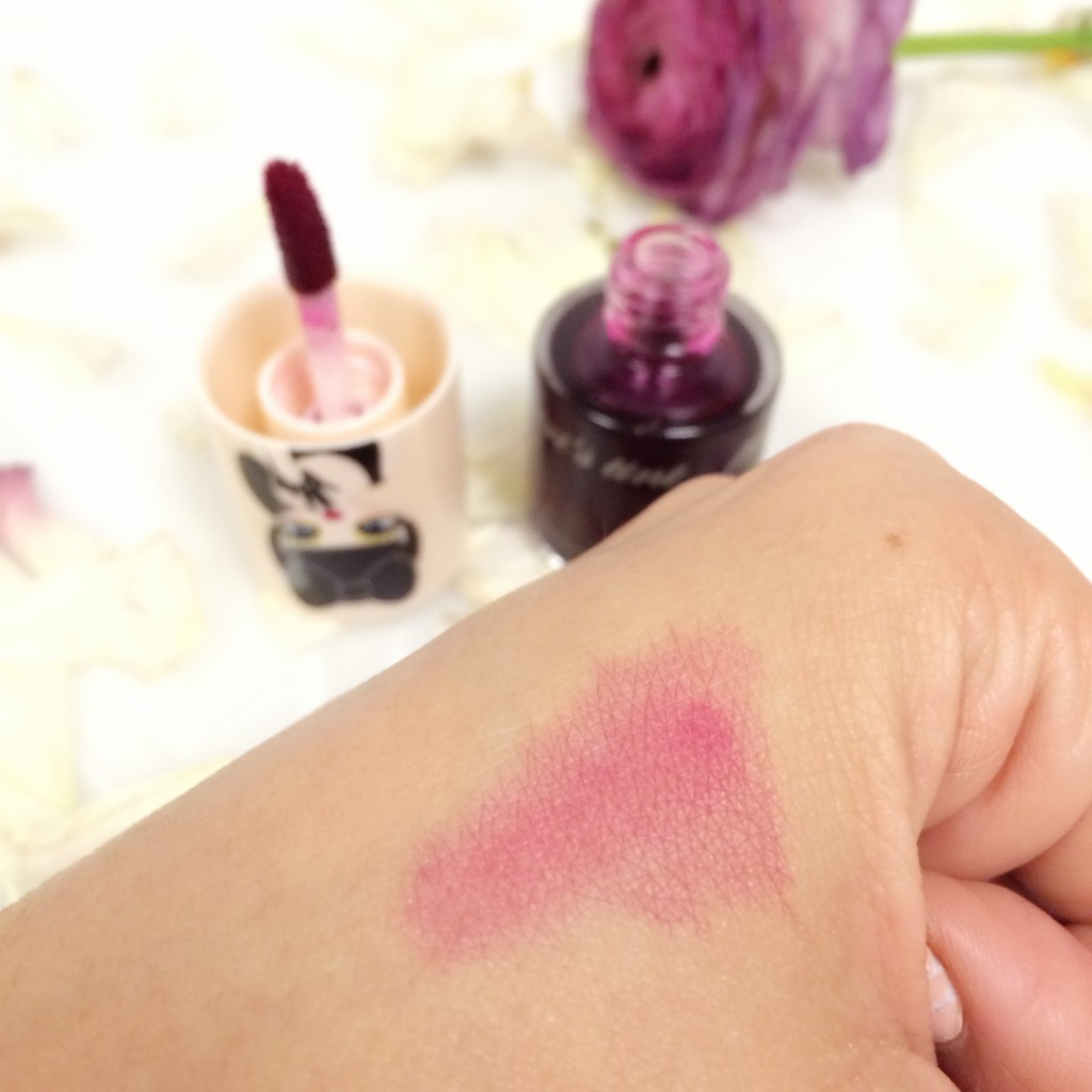 Peri's Lip Tint Swatch in Pink Juice