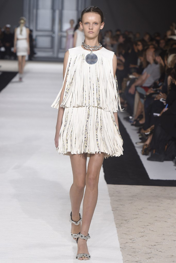 Giambattista Valli Fringe Dress from Spring 2015 Runways
