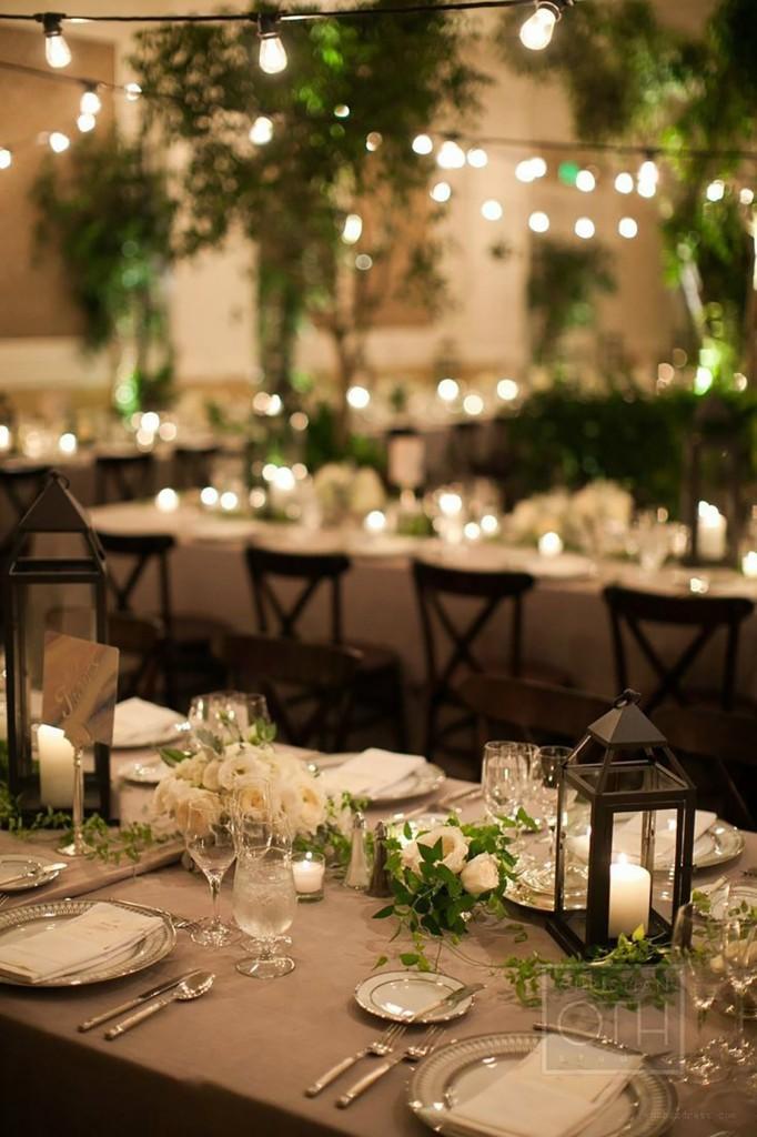semi formal outdoor wedding