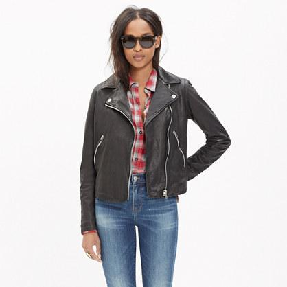 Madewell Washed Leather