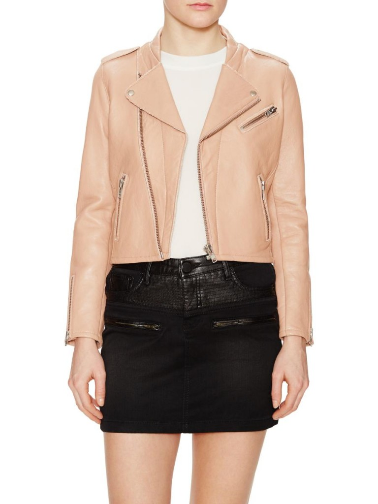 Maje Leather Biker