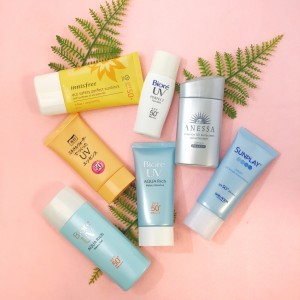 Top Japanese and Korean Sunscreens