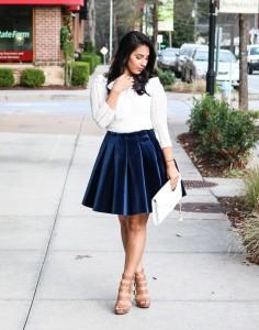 Velvet-Skirt
